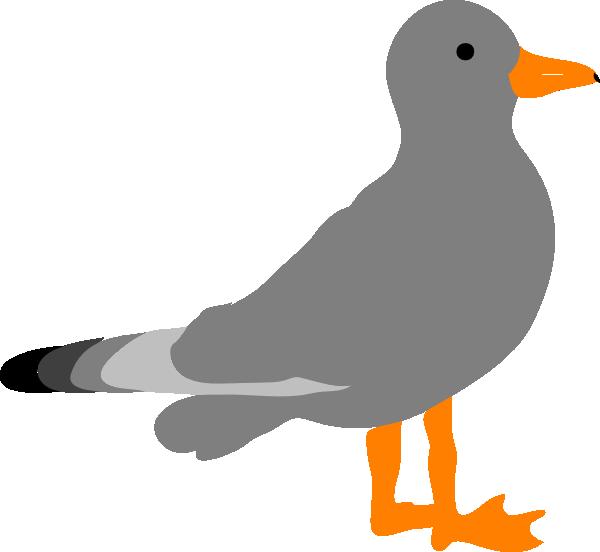 vector royalty free Sea Gull Clip Art at Clker