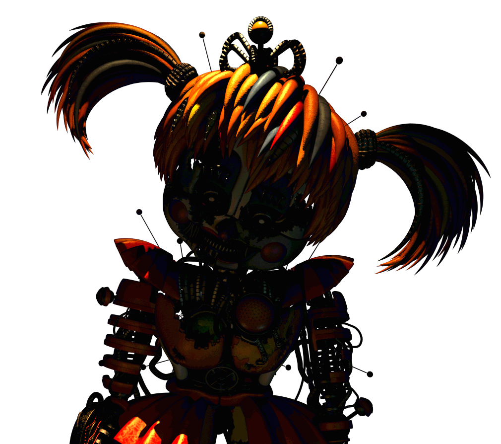 jpg library fnaf transparent scraped baby #96751124