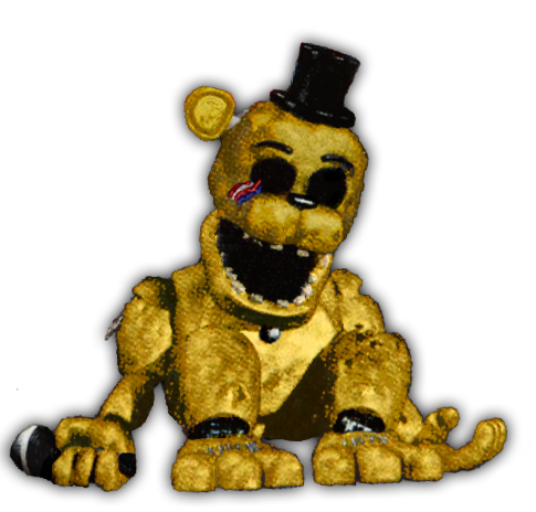 clipart free Golden Freddy Button