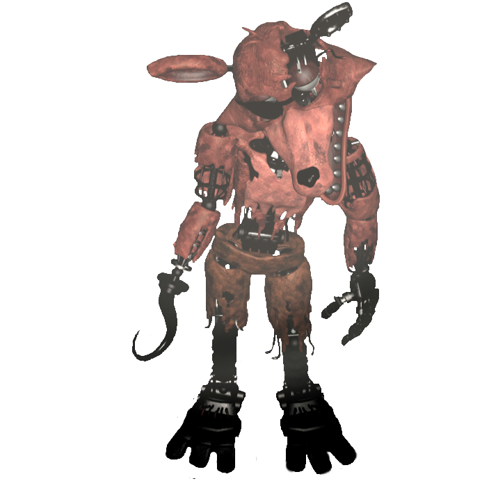 clip black and white Transparent Withered Foxy Full Body by DaHooplerzMan on DeviantArt
