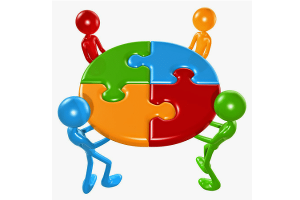 freeuse download Vector employment employee motivation. Team building motivating employees