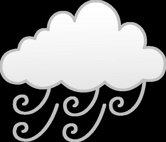 clip art transparent download Wind or weather symbol. Fog clipart.