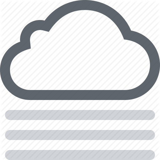 clip art freeuse library Fog clipart fog cloud. Wthr color by timothy.