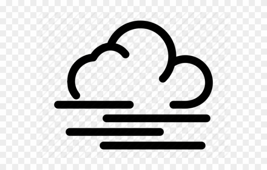 picture Fog clipart weather pattern. Foggy freezing rain icon.