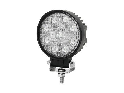 clip black and white library High Output Mini Round Flood Light