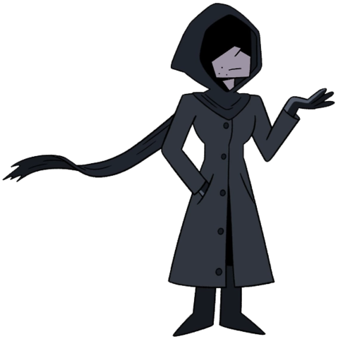 transparent stock Shadowy Figure