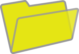 banner library download Yellow And Grey Folder Clip Art at Clker