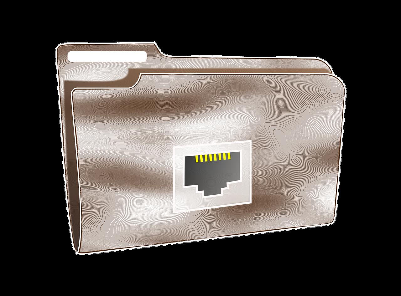 svg royalty free Folder Net Plastic Internet transparent image