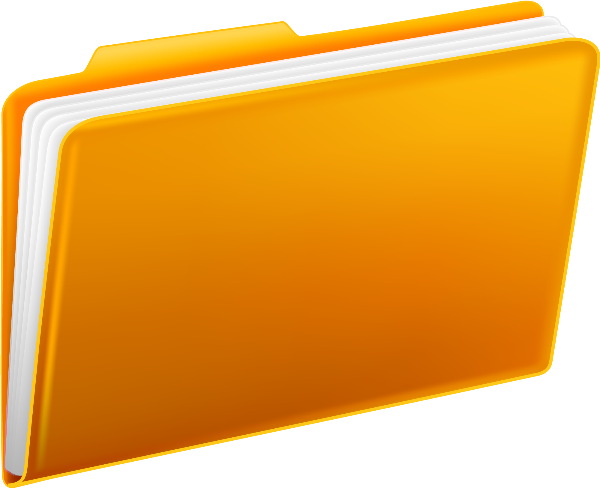 jpg royalty free library Folder Clipart yellow folder