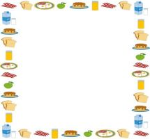 vector library download Free border cliparts download. Food borders clipart