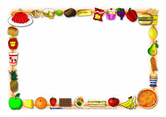 banner stock Free cliparts download clip. Food borders clipart