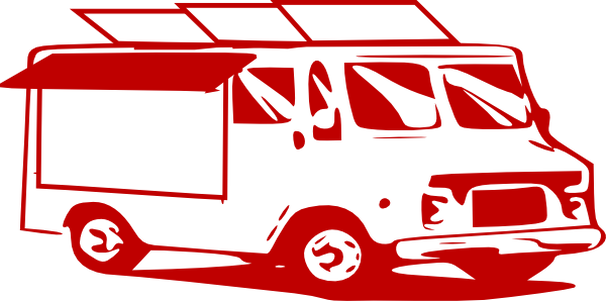 royalty free stock taco truck clipart #67784143