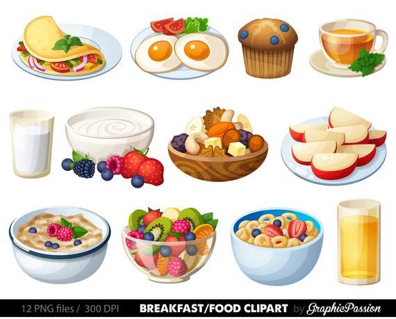 vector royalty free download Food clipart. Breakfast dessert clip art.