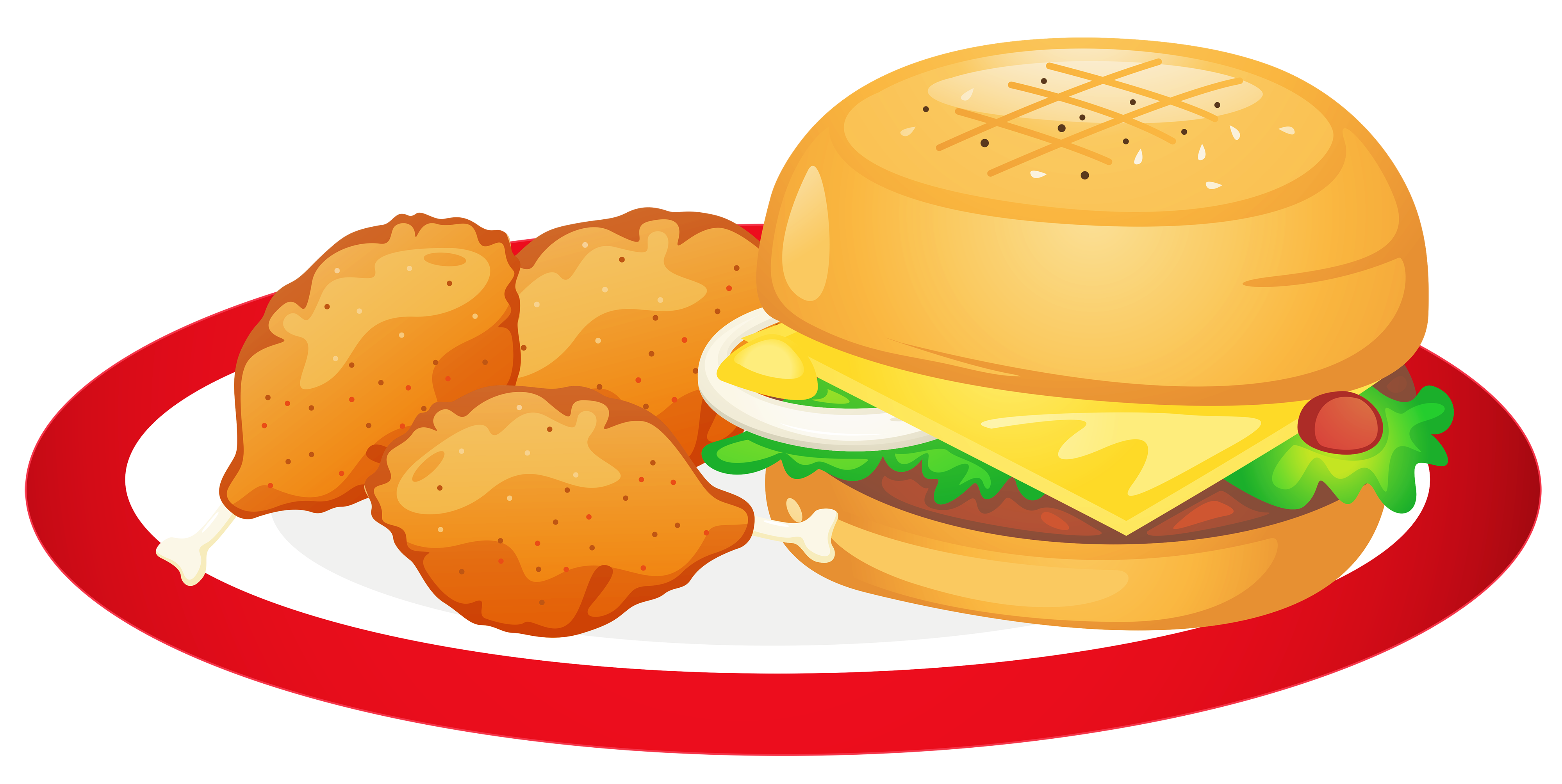 clip art stock Food Plate Clipart at GetDrawings