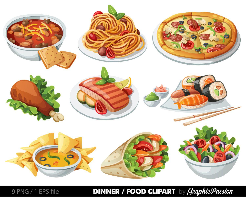 jpg free stock Dood italian party thatsa. Food clipart.