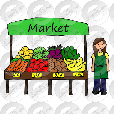 svg free library Market Picture for Classroom