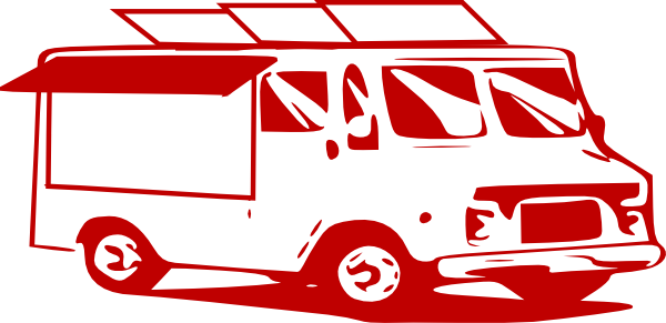 svg freeuse library Mobile Food Truck Clip Art at Clker
