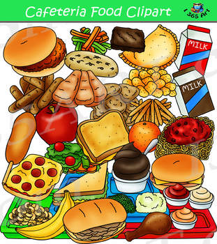 image transparent stock Foods clipart. Cafeteria food build a