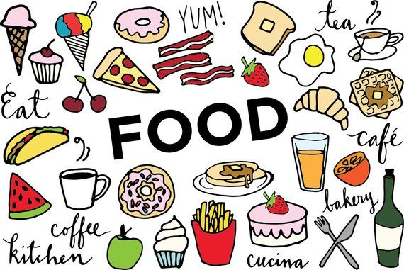 clip freeuse library Food clip art hand. Foods clipart