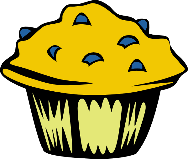 vector royalty free download Muffin clipart school. Fast food breakfast ff.