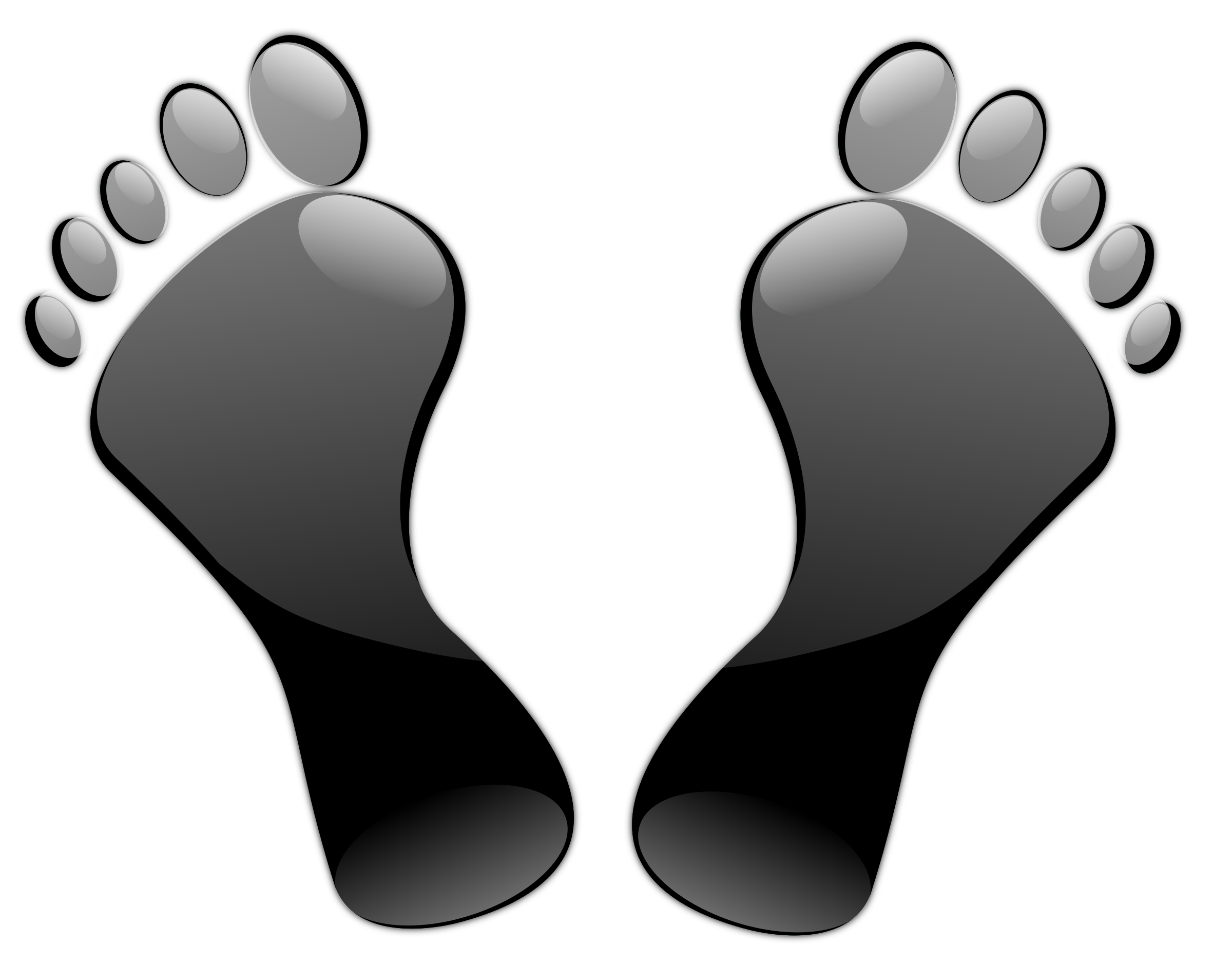 jpg black and white Feet big image png. Foot clipart black and white