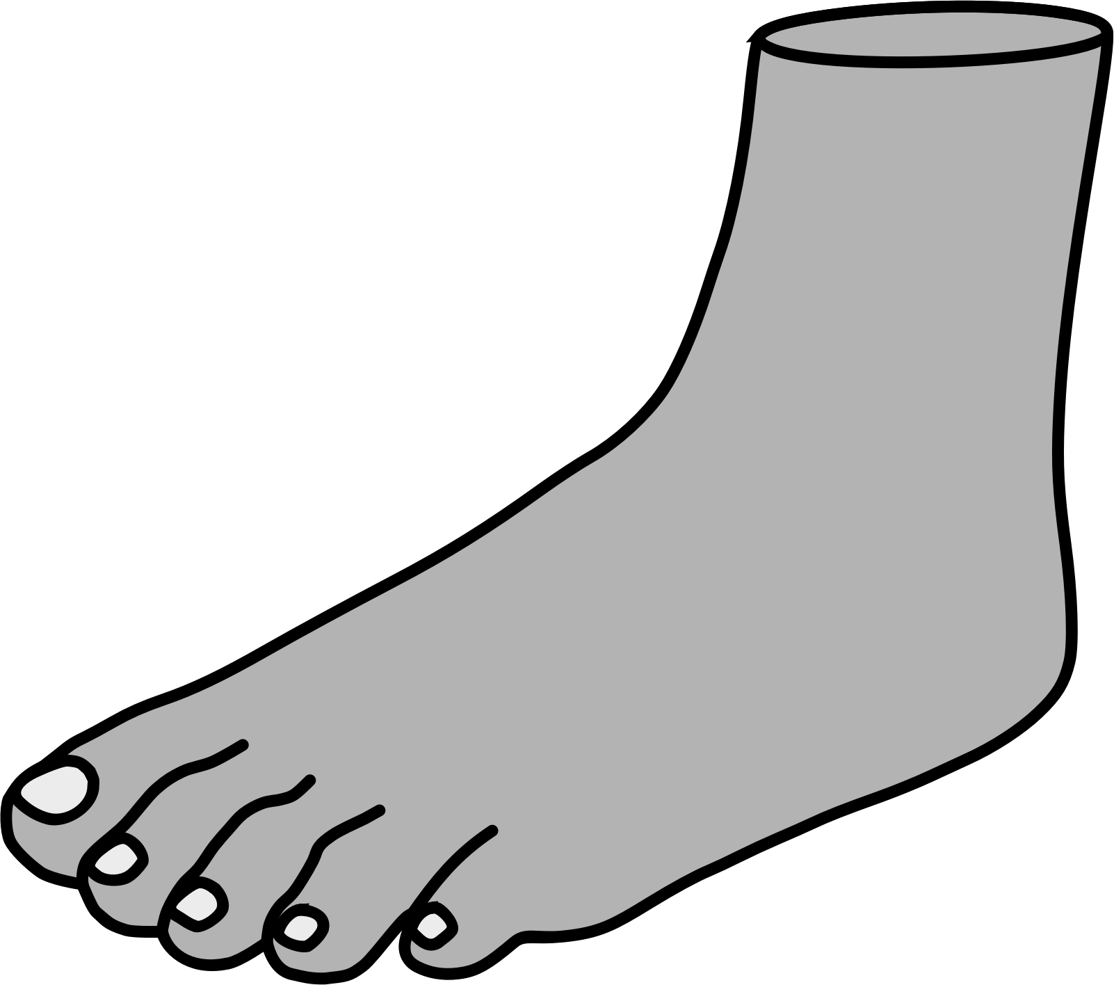 clipart freeuse library  collection of feet. Foot clipart black and white