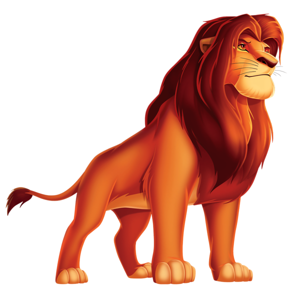banner royalty free Lions clipart foot. King lion cartoon png