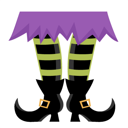svg free library Witch Feet SVG