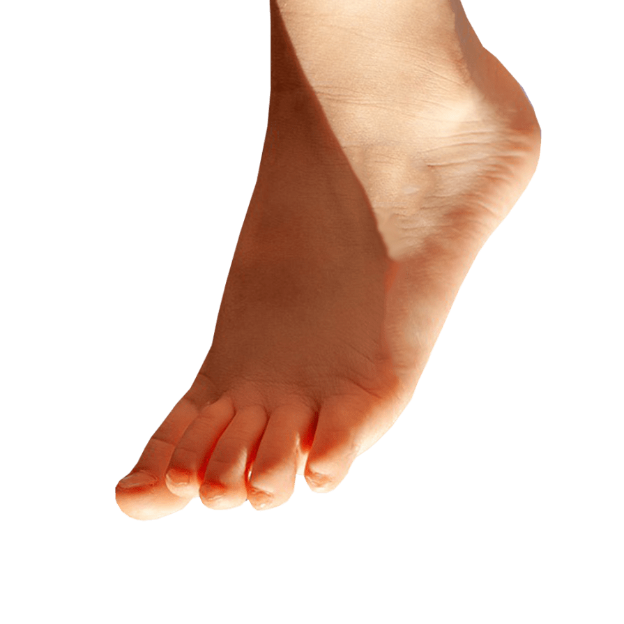png download Foot transparent. Pointing down background png