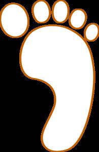 clip freeuse download Footprint Clip Art at Clker