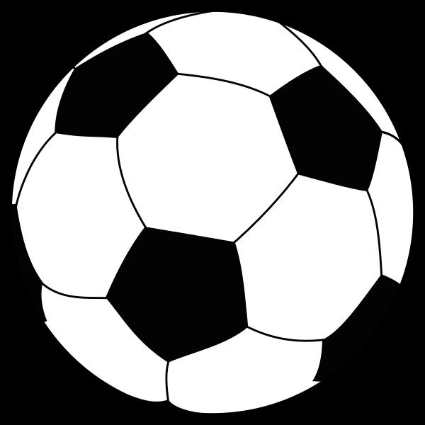 svg black and white Sport balls clipart black and white. File soccerball svg wikipedia