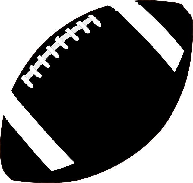 picture free library Football heart clipart black and white. Silhouette images at getdrawings
