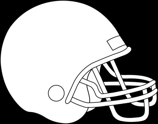 jpg royalty free download Football Helmet Outline Clipart
