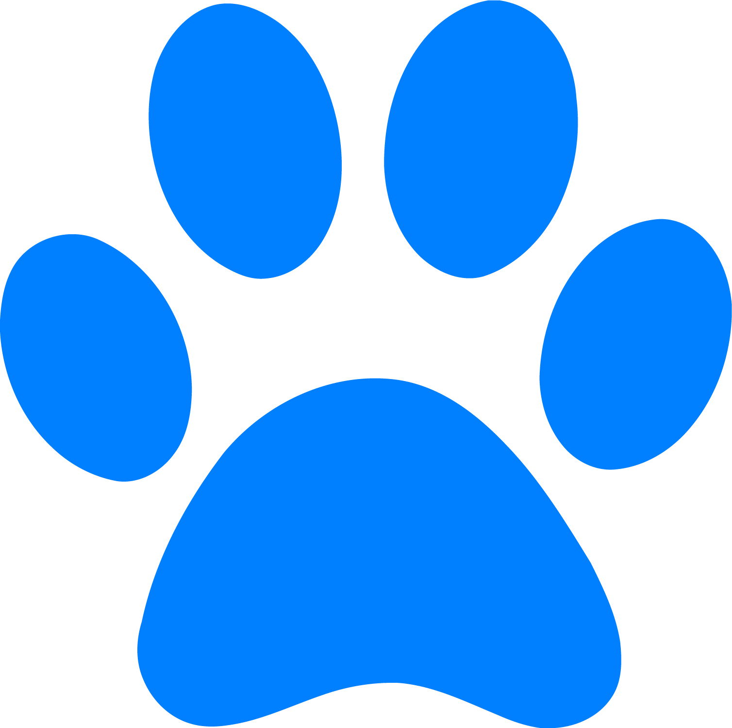 banner freeuse library Footprint clipart. Blue s clues clip.