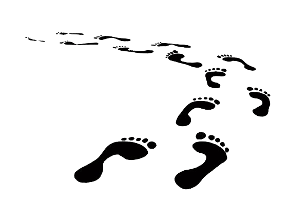 image royalty free download Footprint Clipart pathway