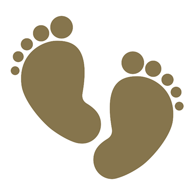 jpg freeuse stock Footsteps clipart stepping. Baby step png transparent