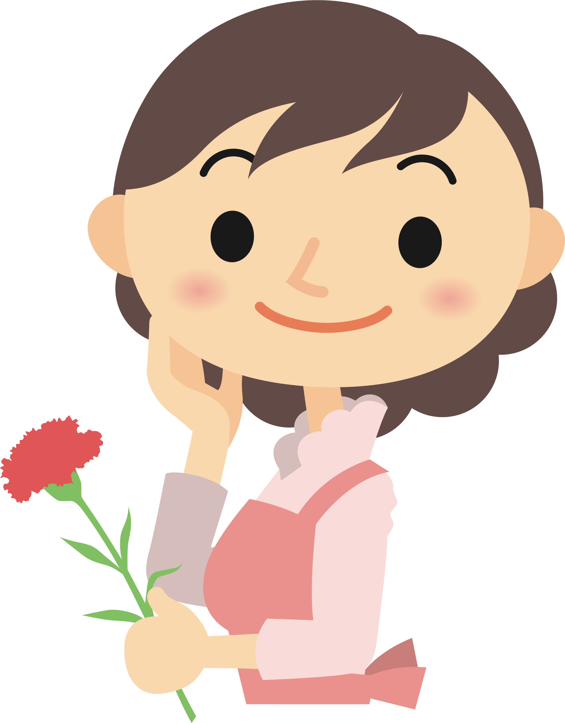clip art free download For her clipart. Flower big image png.