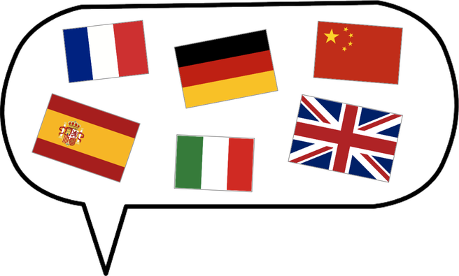 svg free stock The phases of learning a foreign language