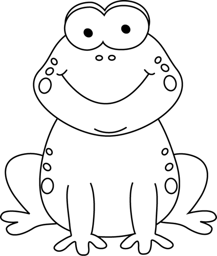 svg transparent stock Cartoon frog clip art. Hamster clipart black and white
