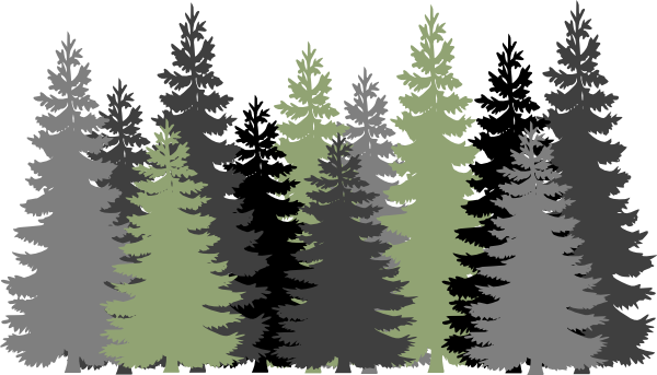 image freeuse stock Forest clipart coniferous forest.  pinterest survival
