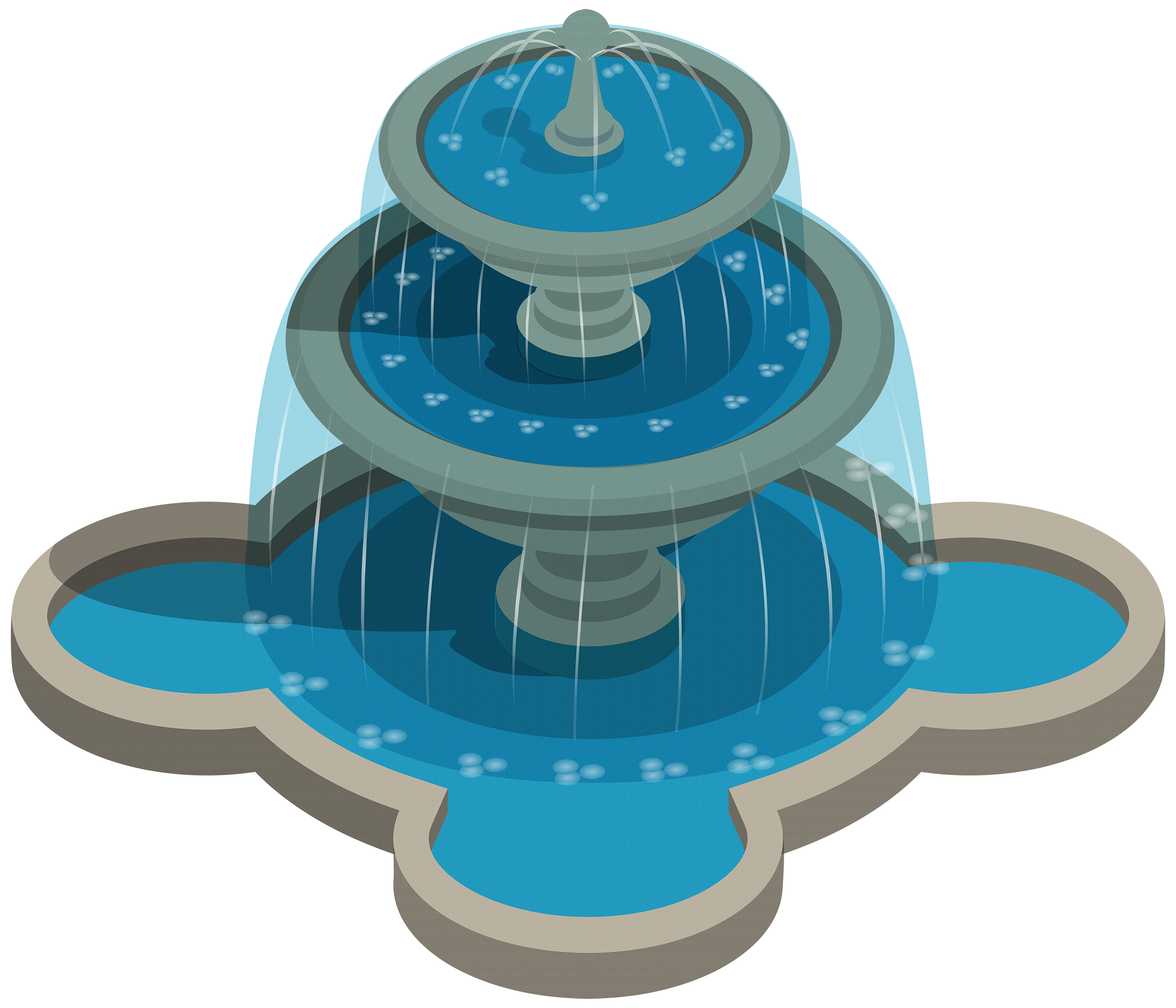 clip art free stock Water png pinterest fountains. Fountain clipart