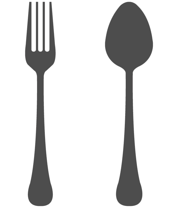 clip art black and white download Spoon And Fork Transparent Background
