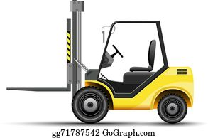 jpg black and white Forklift clipart. Clip art royalty free.