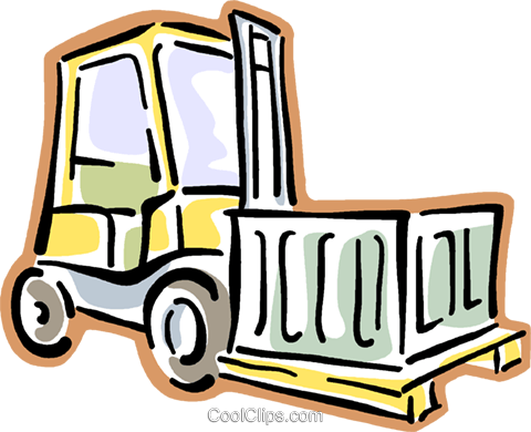 graphic royalty free stock Forklift Clipart at GetDrawings