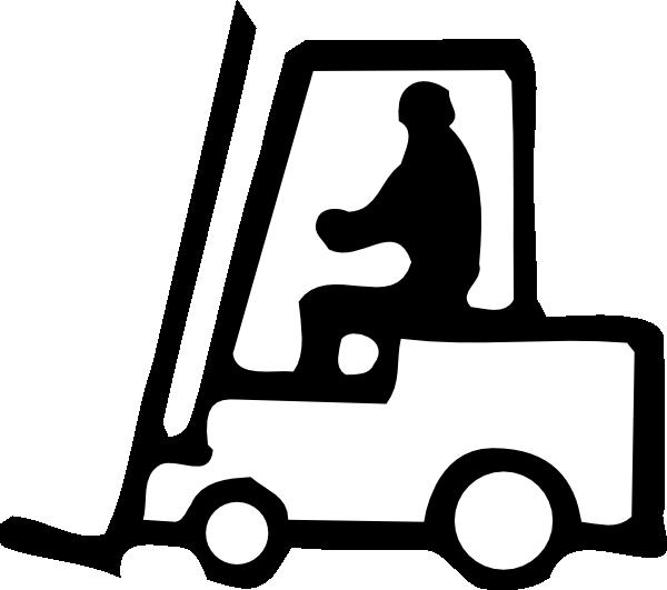 image freeuse download Forklift Clip Art at Clker