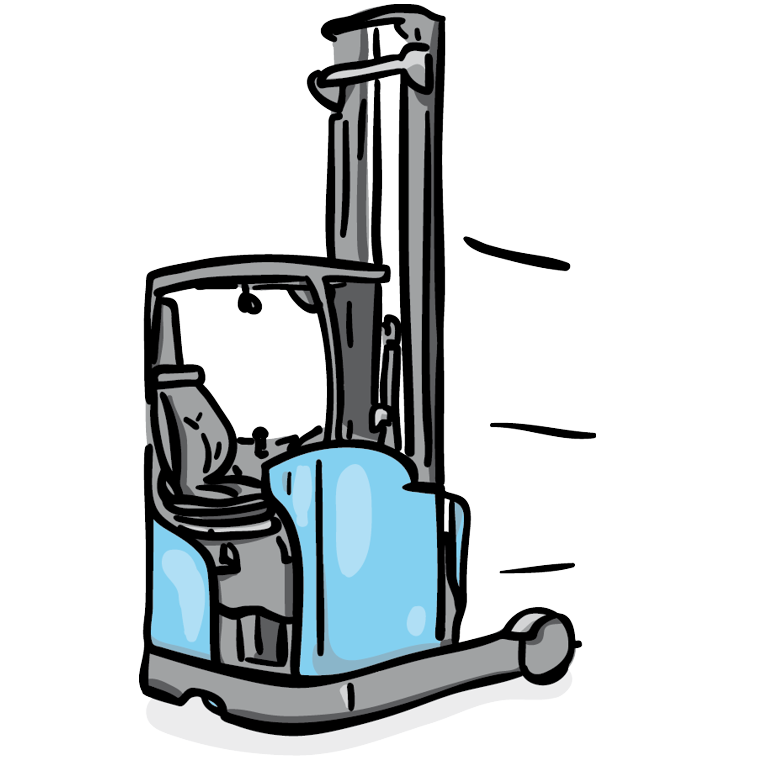 stock Forklifts for rent order. Forklift clipart truck