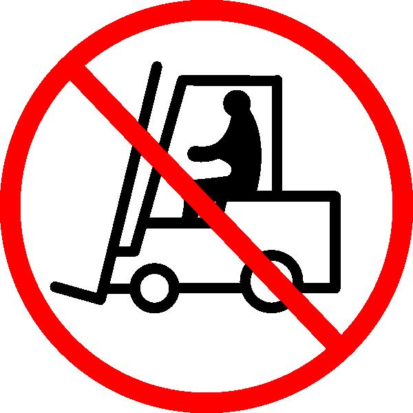 jpg free download No Forklift Sign Clip Art at Clker