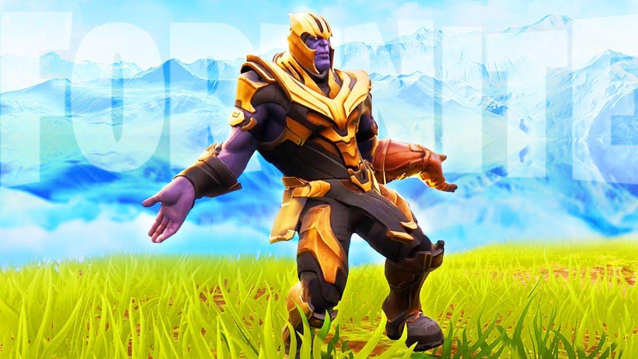 transparent Fortnite Thanos (orange justice).  hours dance to