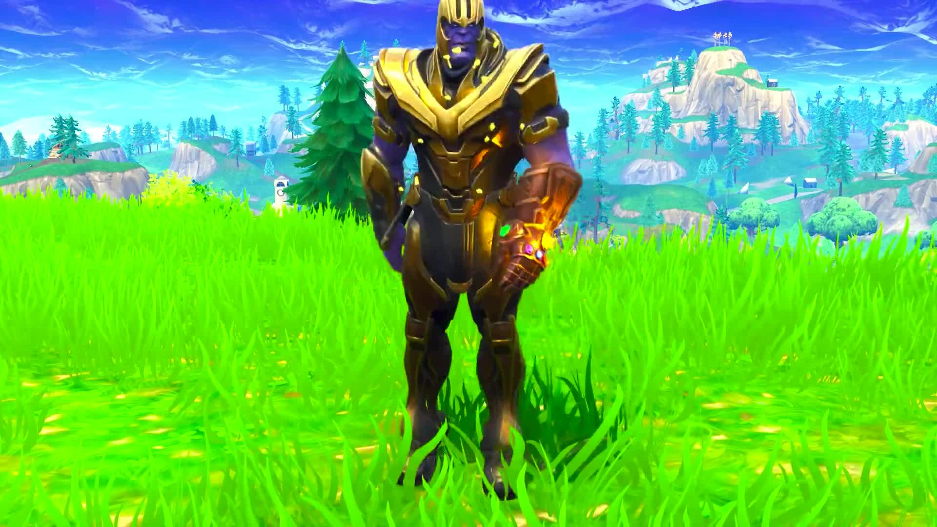 banner transparent stock Orange justice dance emote. Fortnite Thanos (orange justice)