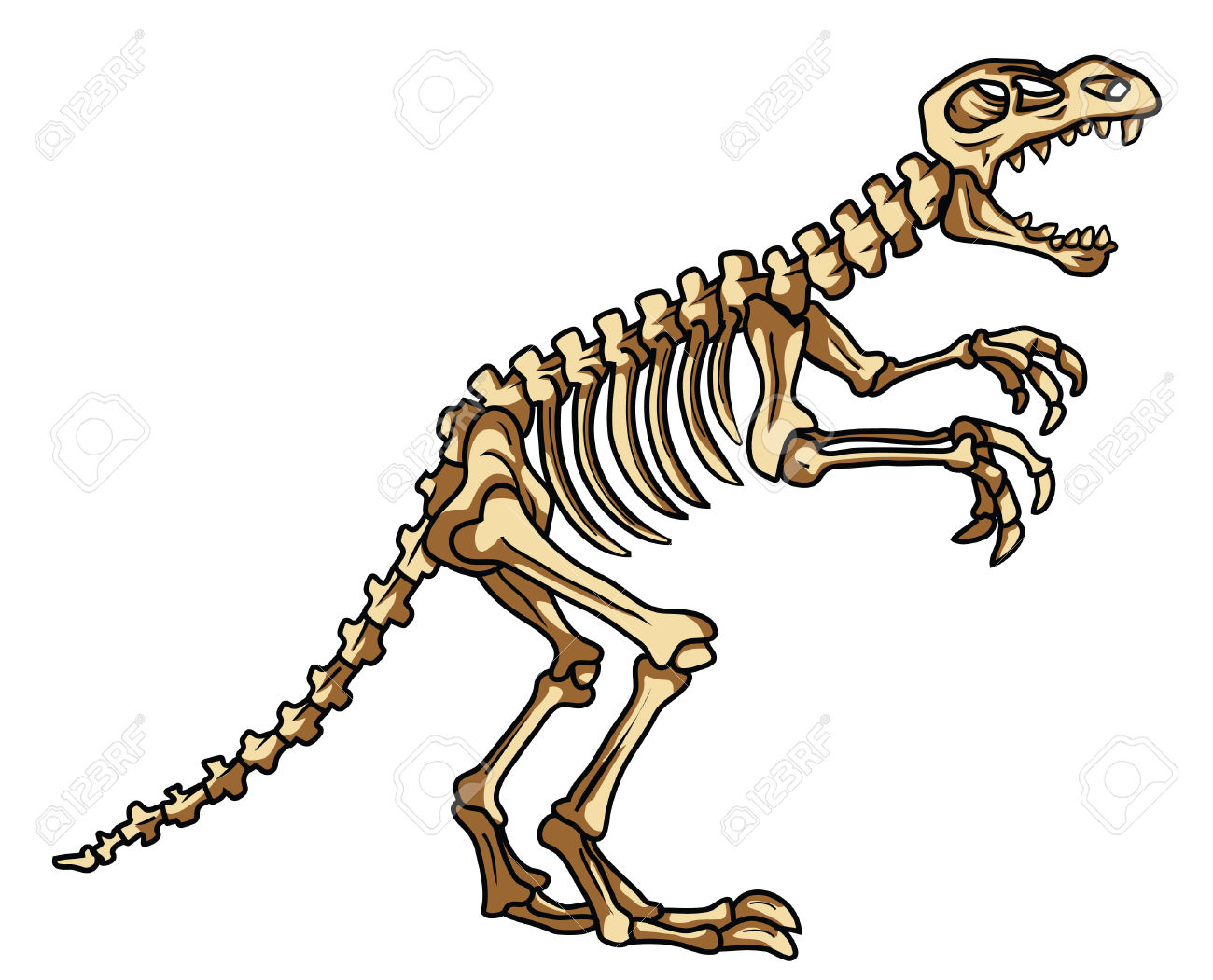 picture royalty free download Dinosaur station . Fossil clipart dino fossil